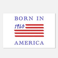 1960 Born In America Postcards (Package of 8)
