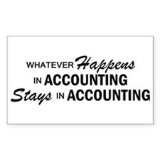 Whatever Happens - Accounting Decal