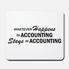 Whatever Happens - Accounting Mousepad