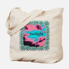 Twilight Eclipse Flowers Tote Bag