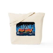 New York Grafitti Tote Bag