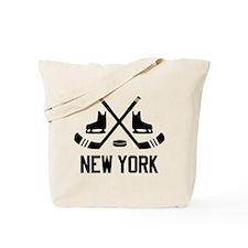 New York Hockey Tote Bag