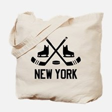 New York Hockey Tote Bag