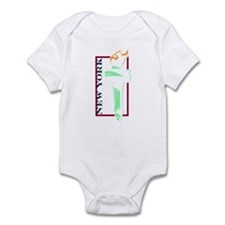 New York Liberty Torch Infant Bodysuit