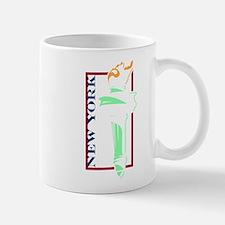 New York Liberty Torch Mug