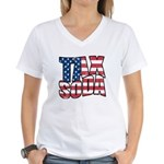 Tax Soda! Women's V-Neck T-Shirt