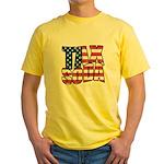 Tax Soda! Yellow T-Shirt