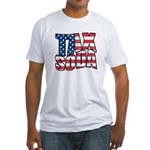 Tax Soda! Fitted T-Shirt
