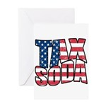Tax Soda! Greeting Card
