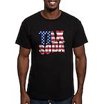 Tax Soda! Men's Fitted T-Shirt (dark)