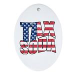 Tax Soda! Ornament (Oval)