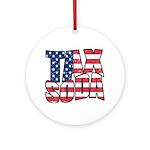 Tax Soda! Ornament (Round)