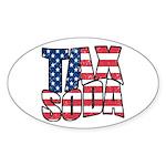 Tax Soda! Sticker (Oval 10 pk)