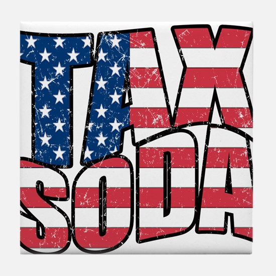 Tax Soda! Tile Coaster