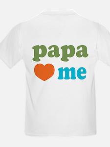 I Heart Papa Loves Me T-Shirt