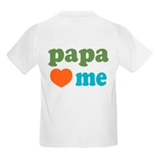 I Heart Papa Loves Me T-Shirt