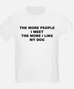 you or my dog Kids T-Shirt