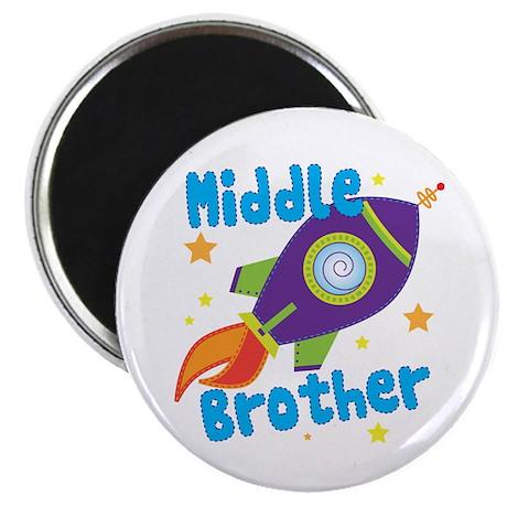 """Middle Brother Rocket 2.25"""" Magnet (10 pack)"""