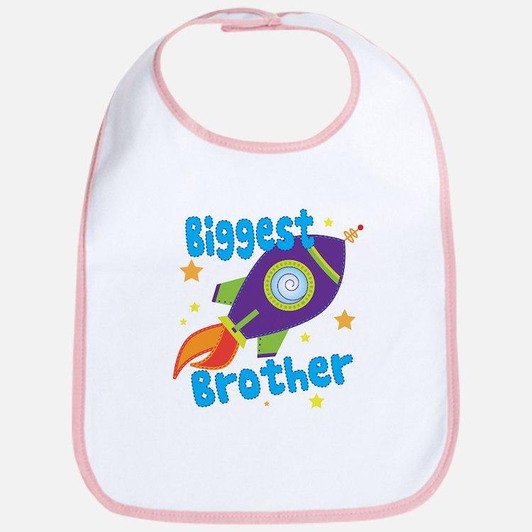 Biggest Brother Rocket Bib