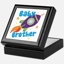 Baby Brother Rocket Keepsake Box