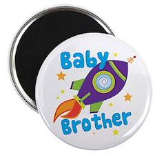 Baby Brother Rocket Magnet