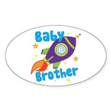 Baby Brother Rocket Decal