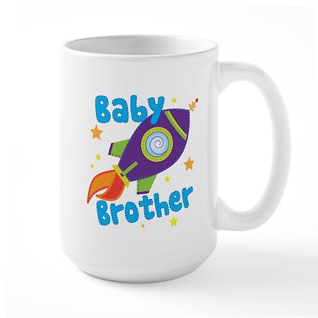 Baby Brother Rocket Large Mug