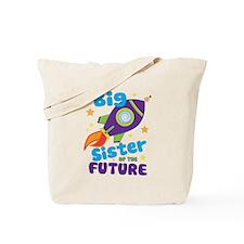 Future Big Sister Tote Bag