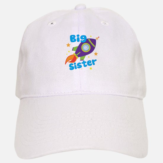 Big Sister Rocket Baseball Baseball Cap