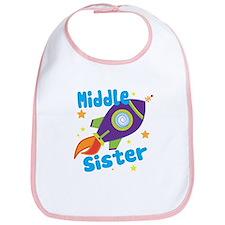 Middle Sister Rocket Bib