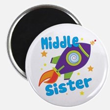 Middle Sister Rocket Magnet