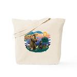 St Francis #2/ Bouvier Tote Bag