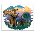 St Francis #2/ Bouvier Small Poster