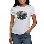St Francis #2/ Bouvier Women's T-Shirt