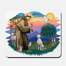 St Francis #2/ Dalmatian Mousepad
