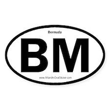 Bermuda Oval Decal