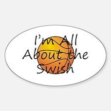 Basketball Swish Decal