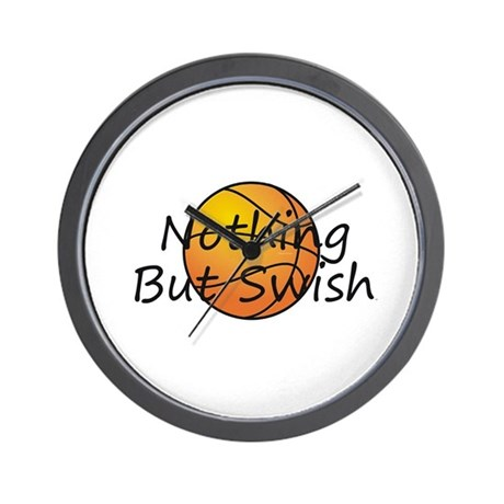 TOP Basketball Swish Wall Clock