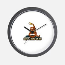 Cute Don%27%27t tread on me Wall Clock