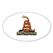 Cute Don%27t tread on me Decal