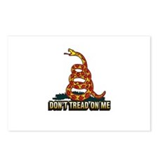 Cute Don%27t tread me Postcards (Package of 8)