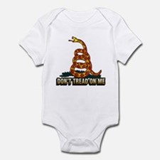 Cute Don%2527t tread me Infant Bodysuit