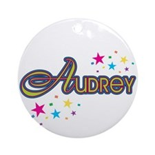 Audrey Ornament (Round)