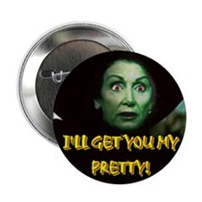 """I'LL GET YOU MY PRETTY! 2.25"""" Button (10 pack)"""