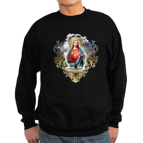 Sacred Heart of Jesus Sweatshirt (dark)