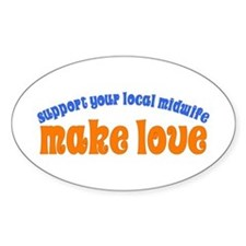 Make Love - Decal