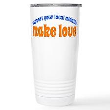 Make Love - Travel Mug