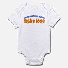 Make Love - Infant Bodysuit
