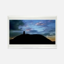 Glastonbury Tor Rectangle Magnet