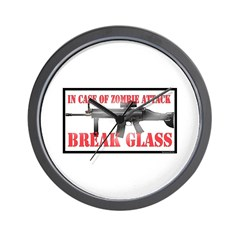 Break Glass Wall Clock